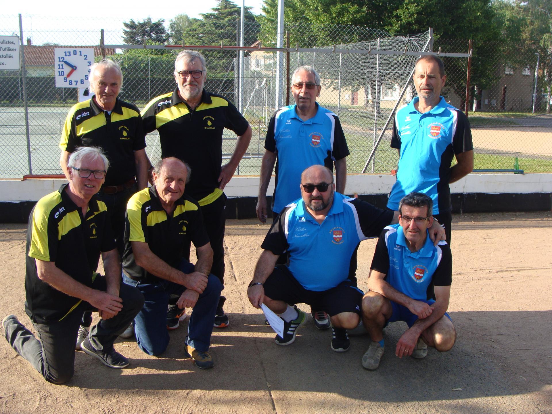 Eliminatoires 4e division